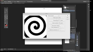 Photoshop CC / 14.2 Create spiral