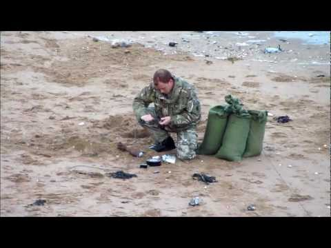 Another Bomb Disposal Incident - Ramsgate East Cliff Beach - Tues 9th Oct 2012