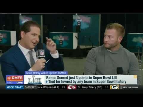 Sean McVay on Rams: Select 31st overall in the 2019 NFL Draft