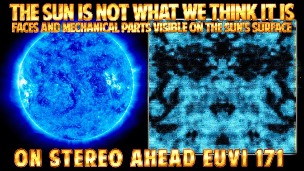 MECHANICAL PARTS and Other ANOMALIES on the SUN's SURFACE. EUVI 171 January 2017