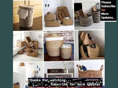 Wicker Basket Decorating Ideas | Wicker Furniture Ideas