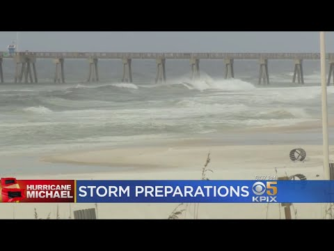 Florida Panhandle Resident Brace For Arrival Of Hurricane Michael