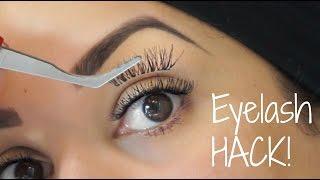 Eyelash HACK | Reverse Lash Tutorial