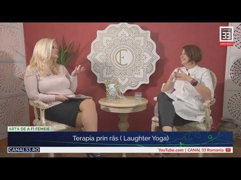 Terapia prin râs (Laughter Yoga) - cu Cristina Petrescu