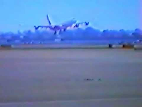 A340 Heathrow Airport Crash Landing
