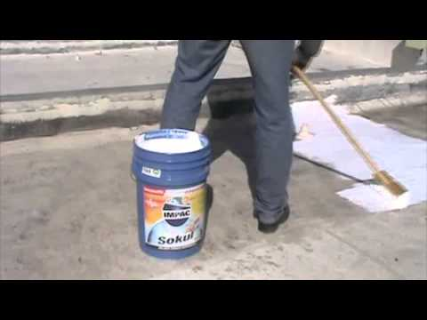 Como aplicar Impermeabilizante IMPAC Sokül