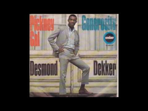 DESMOND DEKKER AND THE ACES, Pickney Gal, Live Recording 1970