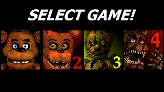 Five Nights at Freddy's 1-4 Jumpscare Simulator | FNAF Fan games | IULITM