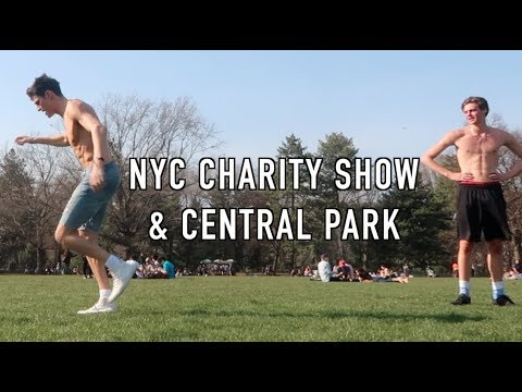 Central Park & Backstage Charity Catwalk