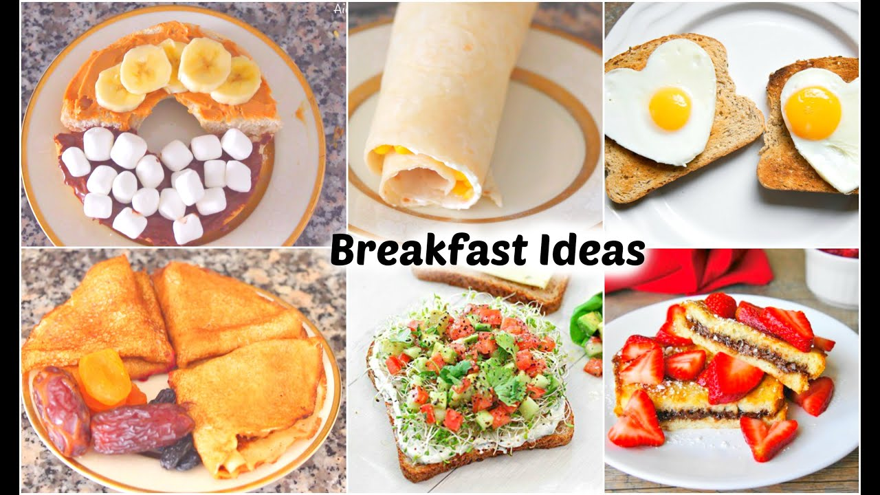 Delicious breakfast recipes easy