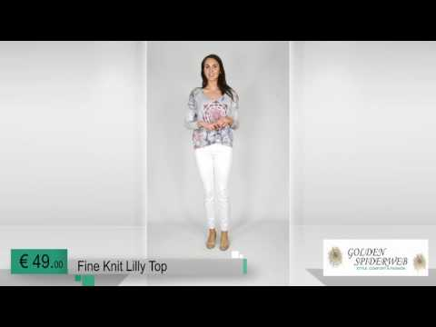 Fine Knit Lilly Top (grey)