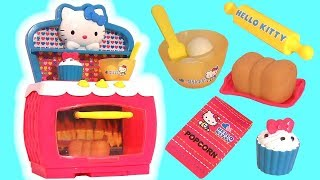 Hello Kitty Magic Oven Kitchen Set with Stove toy unboxing review