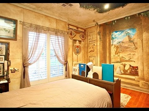 Egyptian Bedroom Decor