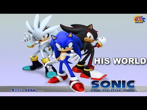 [SONIC KARAOKE ~INSTRUMENTAL~] Sonic the Hedgehog - His World (Kondrashov's Lair cover) [HD]