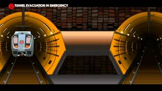 Tunnel evacuation in emergency
