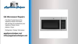 ge microwave repairs appliance helpers