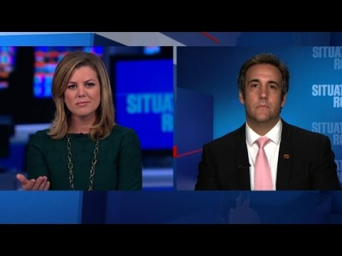 Michael Cohen denies Trump campaign shake-up