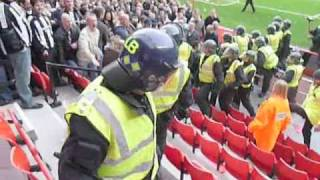 Sunderland 2-1 Newcastle Utd - Crowd Trouble - 25/10/08