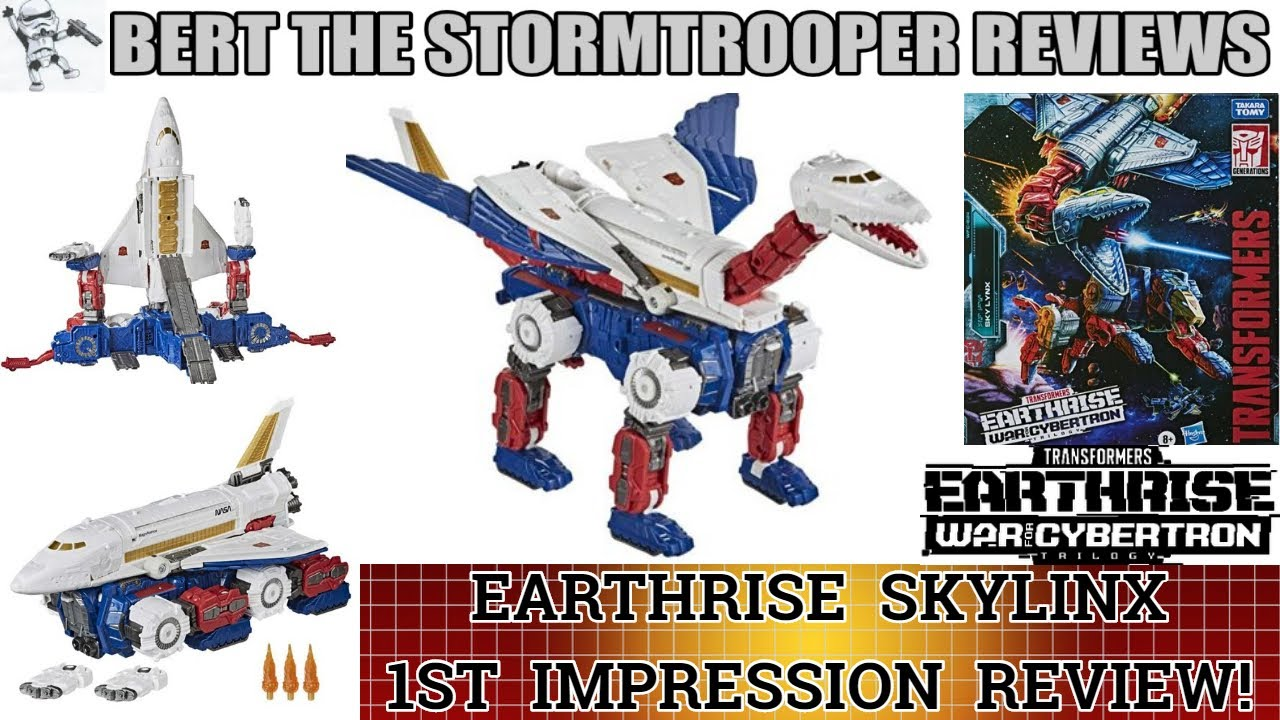 Transformers Earthrise SKYLINX! 1st Impressions Reviews by Bert the Stromtrooper!