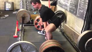 Power Project: Ryan Spencer Deadlifts 635 at 165