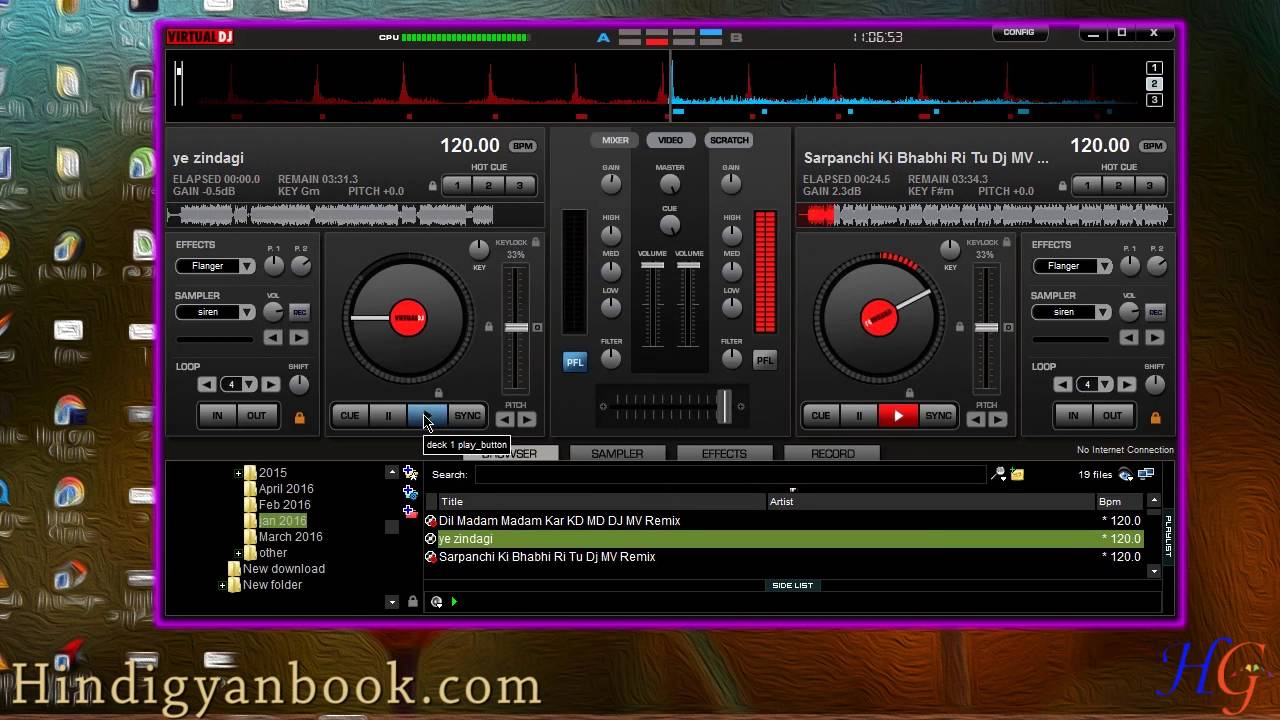 Virtual DJ Me Non Stop Remixing kaise kare