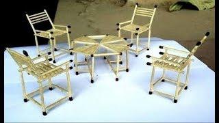 make a table and chair ( machis ki teeli)