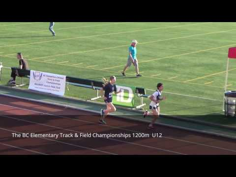 The BC Elementary Track & Field Championships 1200m