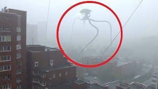 5 Cổ Máy Ngoài Hành Tinh TRIPOD Xuất Hiện Được Camera Quay Lại || 5 Alien Tripod Caught On Camera