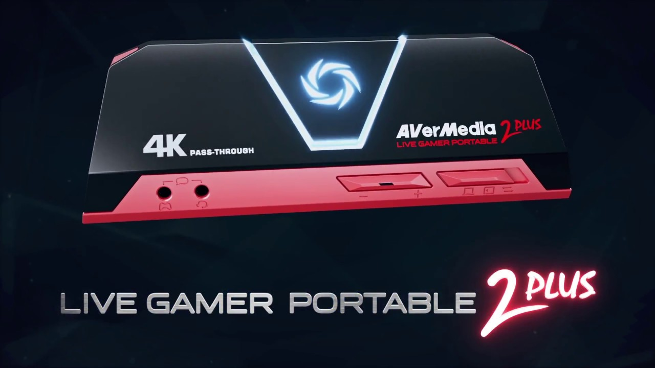 AVerMedia Live Gamer Portable 2 Plus (LGP2 Plus) External Capture Card
