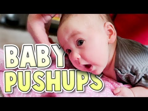 Exercising With Baby! | Family Baby Vlogs