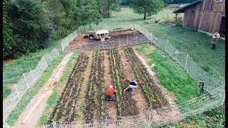 How We Built a 10 Acre Homestead in a Year (from scratch)
