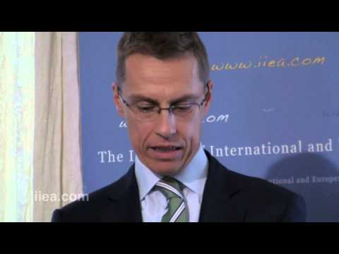 Alexander Stubb on Inaction is not an option - Fixing the Euro