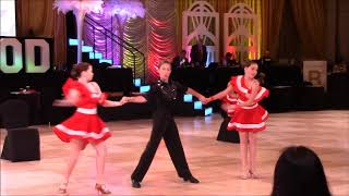 "11.18. ""Kiss""  show (LA Star Dance) @ Hollywood Dancesport Championship"