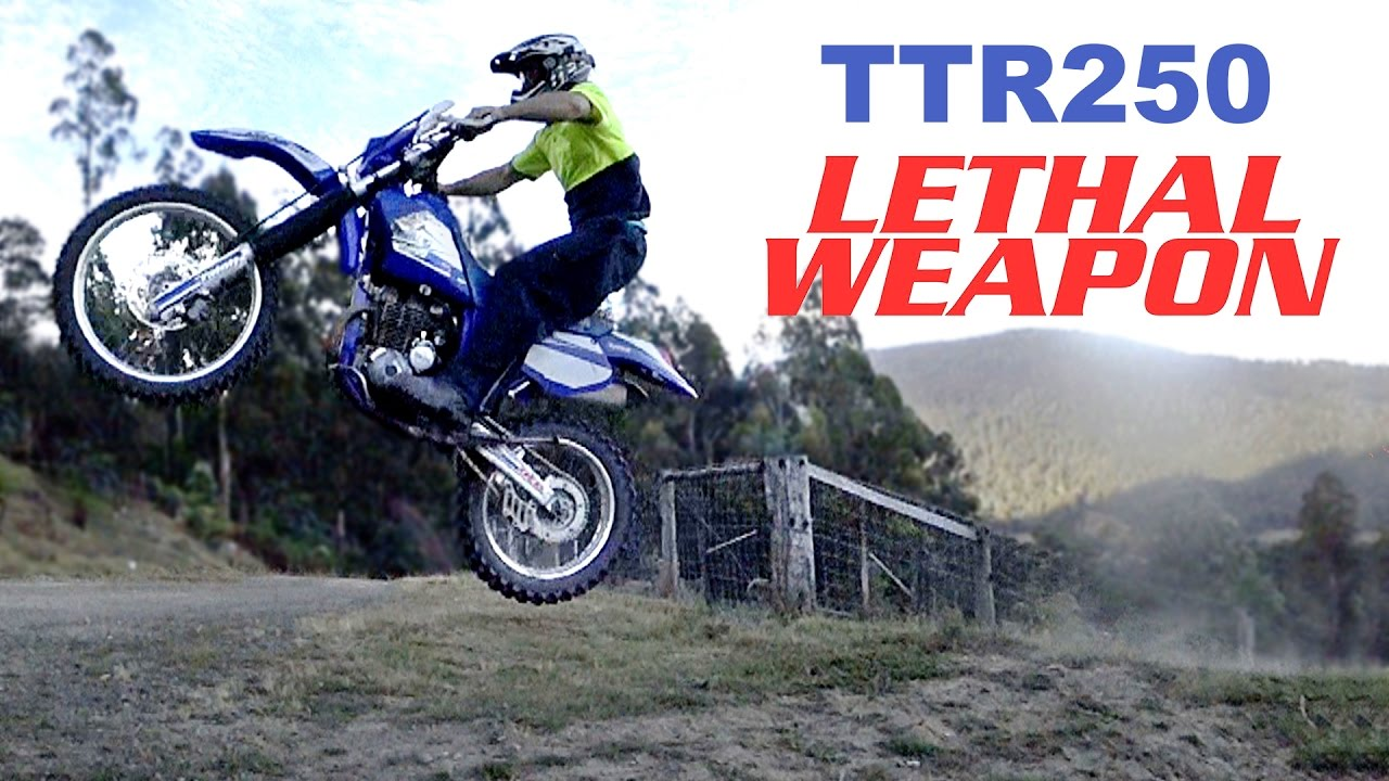YAMAHA TOTALLY EPIC TTR250 REVIEW Japan's lethal enduro weapon!