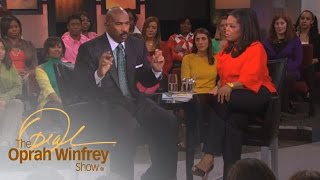 Steve's Harvey's 5 Questions Women Should Ask Before Getting Serious | The Oprah Winfrey Show | OWN