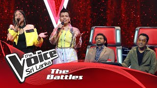 The Battles : Dilmi Fernando V Adithya Wickrama Arachchi | Gayu Gee Athithe | The Voice Sri Lanka Thumbnail