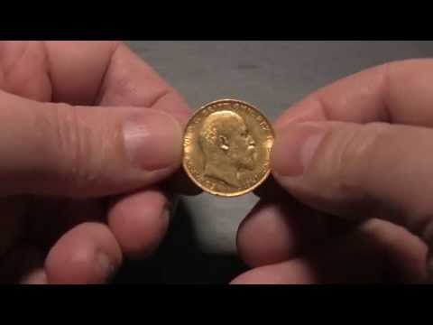British bullion - Gold Sovereign and Silver Britannia