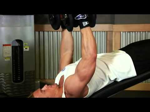 How to Do a Decline Dumbbell Fly