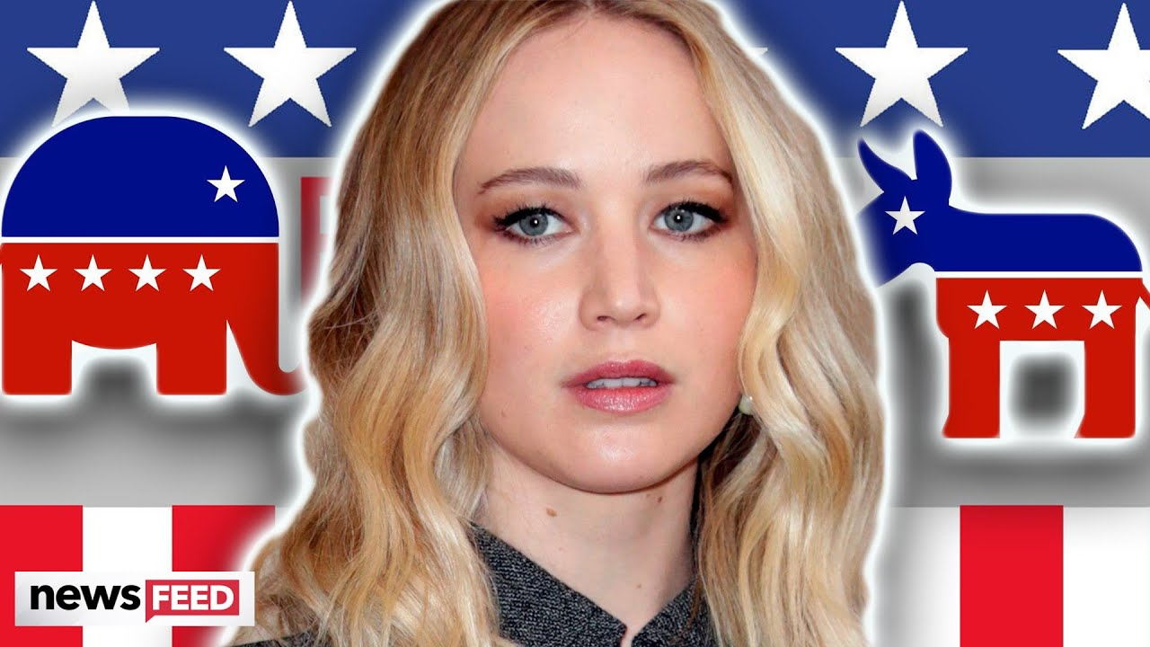 Jennifer Lawrence Reveals Political Status Ahead Of Election