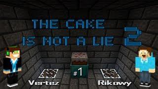 Minecraft Escape - The Cake is Not a Lie 2 #1 - Vertez & Rikowy