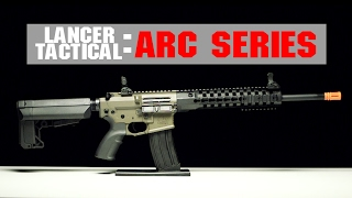 Lancer Tactical Airsoft M4 ARC Series Overview | Quick Change Spring & Lonex parts! | AIRSOFTGI.COM