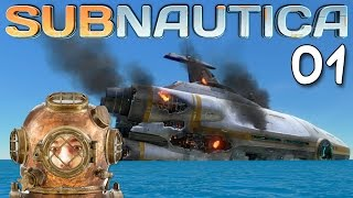 "Subnautica Gameplay Ep 01 - ""Like Stranded Deep...With SUBMARINES!!!"" 1080p PC"