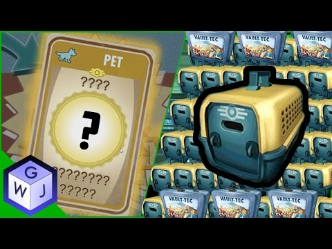 Fallout Shelter Another 41 Pet Carriers Plus Lunchboxes Legendary Pets