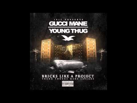 Gucci Mane   Bricks Like A Project ft  Young Thug CDQ