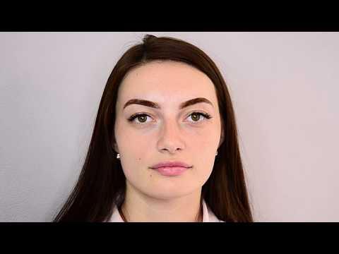 Видеоурок по осветлению бровей