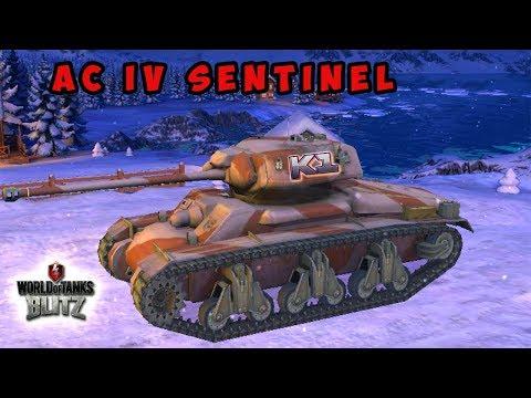 World Of Tanks Blitz.  AC IV Sentinel ДОСТОЙНЫЙ ПРЕМИУМНЫЙ СТ