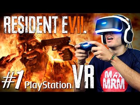 RESIDENT EVIL 7 : Parte #1 - PLAYSTATION VR COM FACECAM ( PS4 Pro em Português )