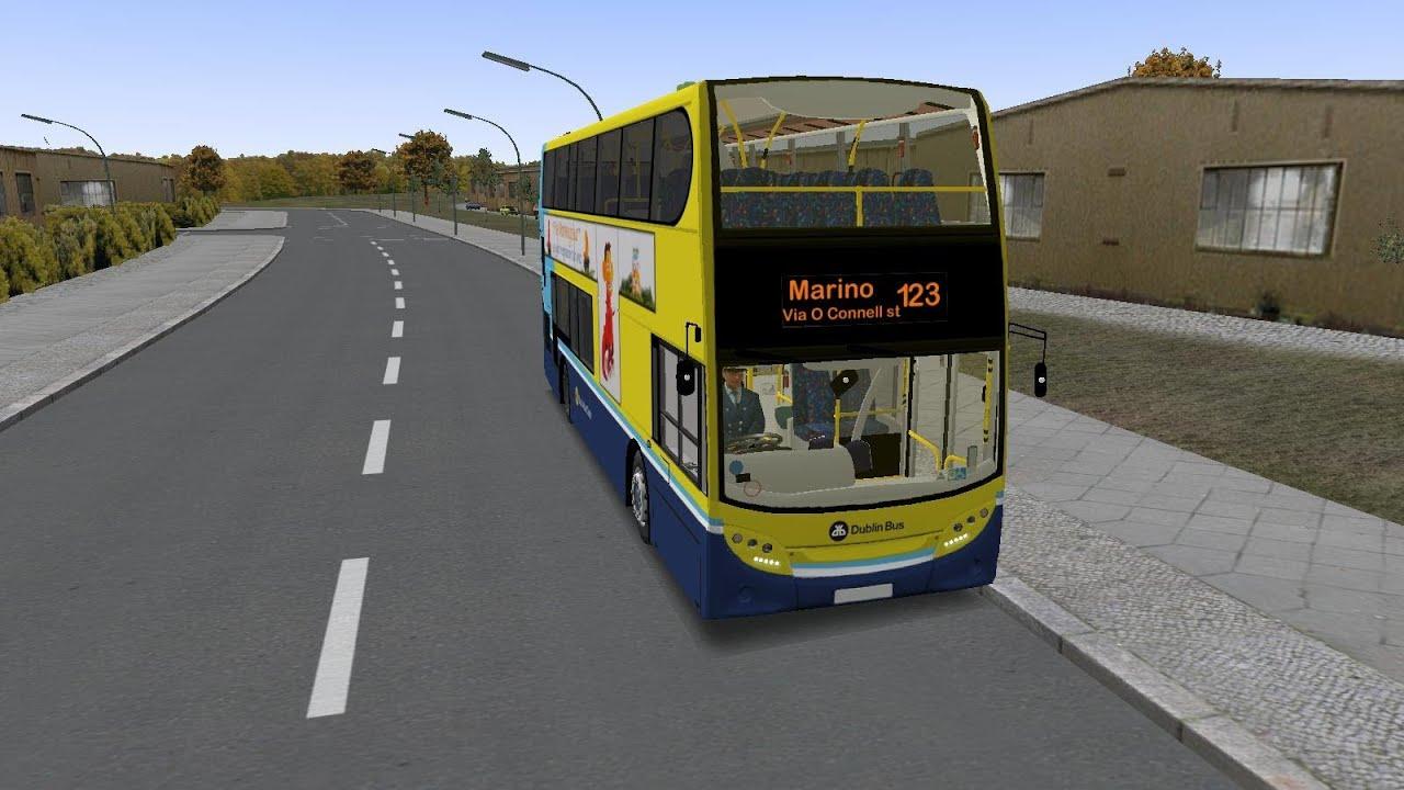 Omsi The Bus Simulator Dublin Bus Route 123 Enviro 400