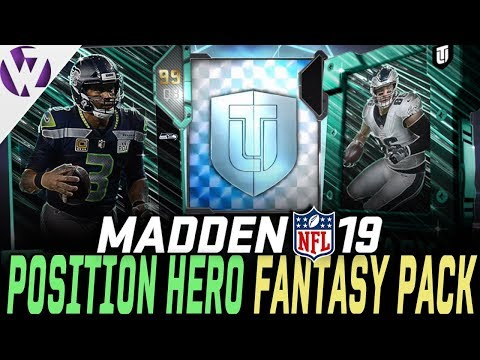 POSITION HERO FANTASY PACK! NEW PH RUSSELL WILSON AND MORE! - Madden 19 Pack Opening