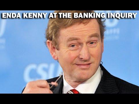 Enda Kenny Banking Inquiry